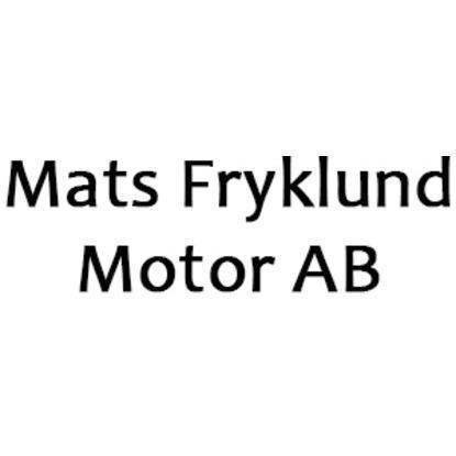 Mats Fryklund Motor AB logo