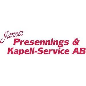 Jannes Presenning- & kapellservice logo