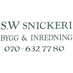 SW Snickeri Bygg och Inredning logo