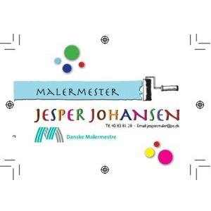 Malermester Jesper Johansen logo
