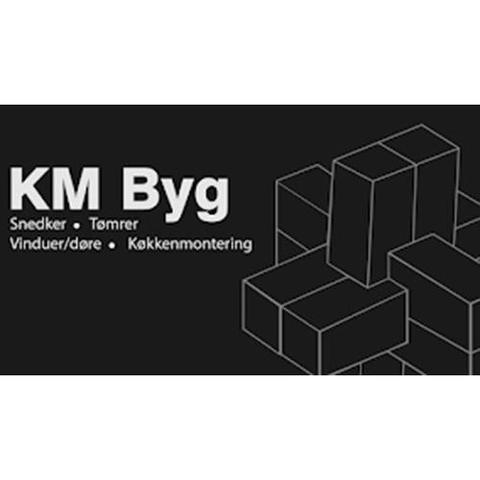 KM Byg logo