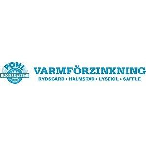 Halmstads Varmförzinkning, AB logo