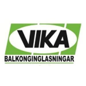 Vikabalkong i Eskilstuna, AB logo