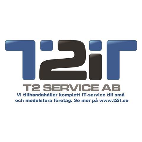 T2 IT Service AB logo