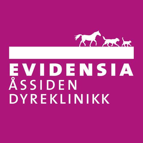 Evidensia Åssiden Dyreklinikk logo