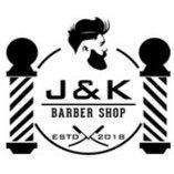 J&K Barber Shop og herrefrisør logo