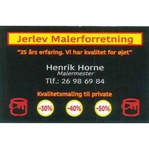 Jerlev Malerforretning logo