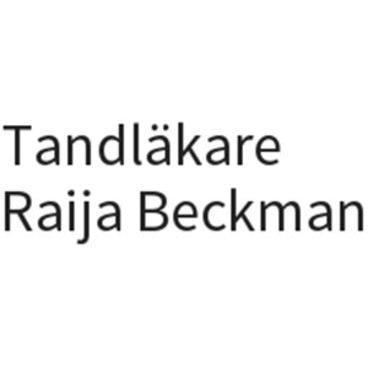 Raija Beckman Tandläkare logo