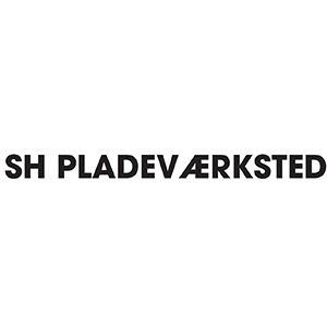 SH Pladeværksted logo