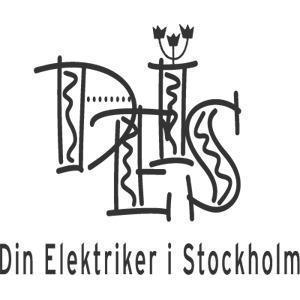Din Elektriker i Stockholm AB logo