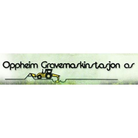 Oppheim Gravemaskinstasjon AS logo
