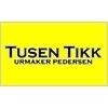 Tusen Tikk Urmaker Pedersen logo