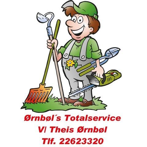 Ørnbøl's Totalservice logo