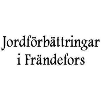 Jordförbättringar i Frändefors logo