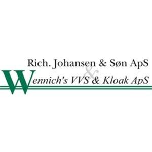 Wennich's VVS & Kloak - Rich. Johansen & Søn ApS logo