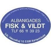 Albanigades Fisk og Vildt A/S logo