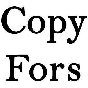 Copy Fors logo