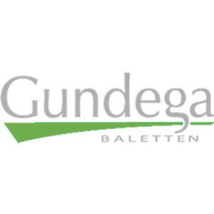Gundega Balett Skola I Karlstad /G B S K/ logo