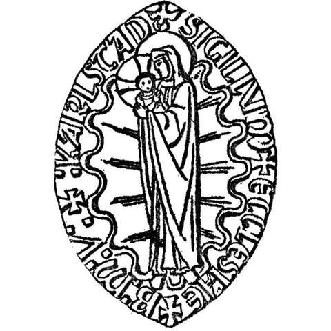 Vår Fru av Rosenkransens katolska församling logo