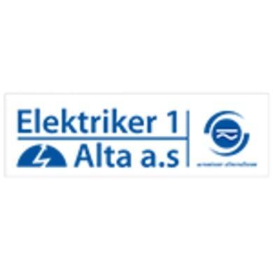 Elektriker 1 Alta AS logo