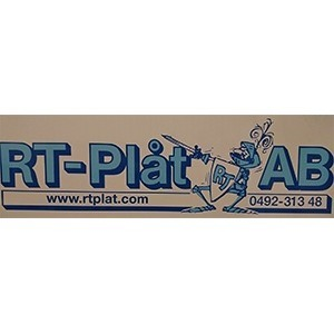 R T-Plåt AB logo