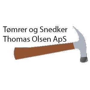 Tømrer-, Snedker- og Murerfirma Thomas Olsen logo