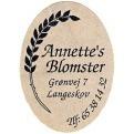 Annette's Blomster logo