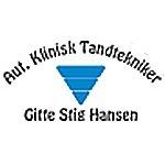 Aut. Klinisk Tandtekniker Gitte Stig Hansen logo