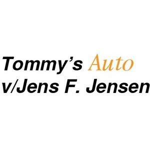 Tommy's Auto v/Jens F. Jensen logo