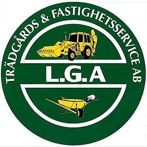 L.G.A Trädgårds & Fastighetsservice AB logo