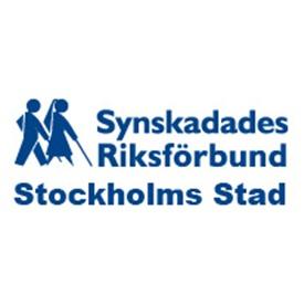 Synskadades Riksförbund Stockholms Stad logo