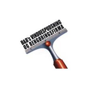 B & B Vinduespolering logo