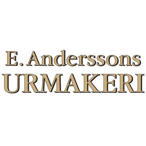 E. Anderssons Urmakeri AB logo