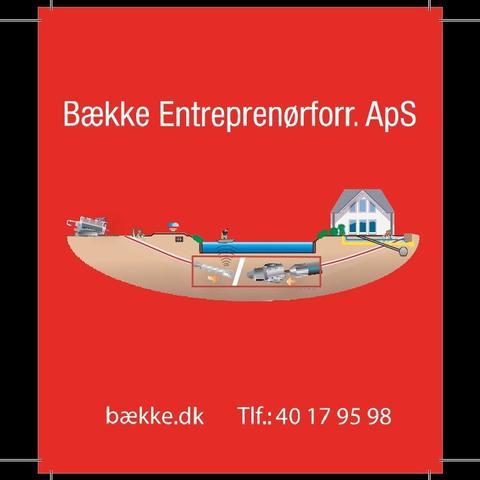 Bække Entreprenørforretning ApS logo