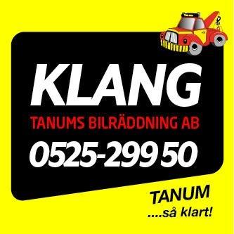 KLANG - Tanumshede Bilräddning | Assistans 24/7 logo