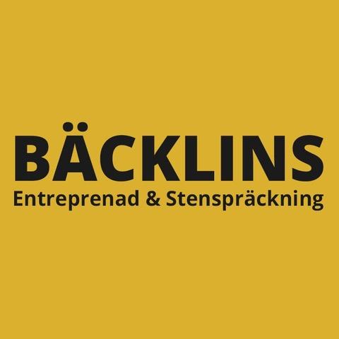 Bäcklins Entreprenad Stenspräckning logo