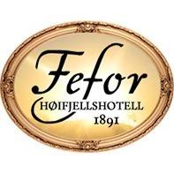 Fefor Høifjellshotell logo