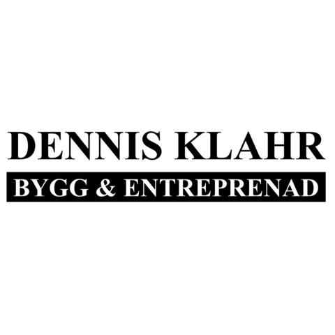 Dennis Klahr Entreprenad logo