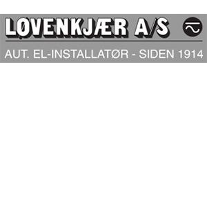 Løvenkjær A/S - Aut. Elinstallatør logo