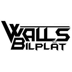 Walls Bilplåt logo