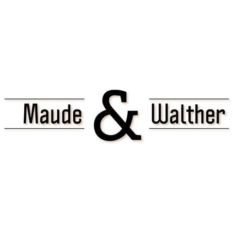 Frisør Maude&Walther logo