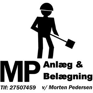 Mp anlæg og belægning v/Morten Pedersen logo