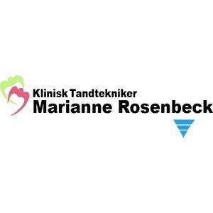 Klinisk tandtekniker Marianne Rosenbeck logo