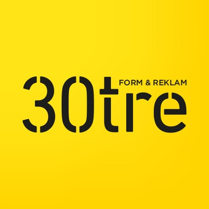 30tre Form & Reklam AB logo