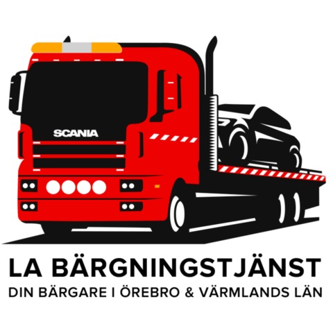 LA Bärgningstjänst Falck bilbärgning logo