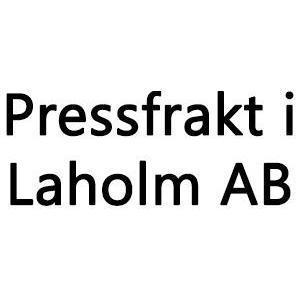 Pressfrakt i Laholm AB logo
