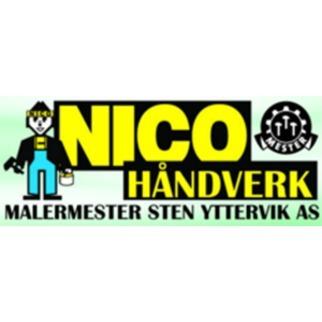 Nico Håndverk Malermester Sten Yttervik AS logo
