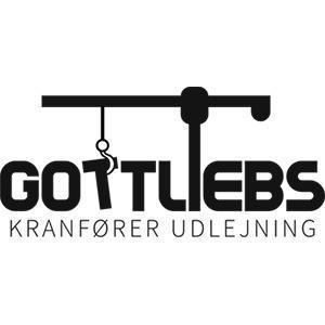 Gottliebs Kranfører Udlejning logo
