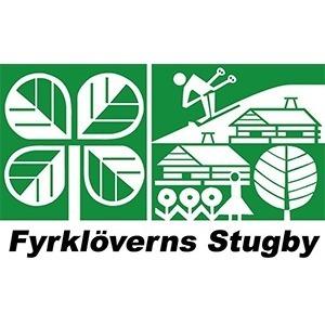 Fyrklöverns Stugby logo