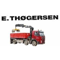 Vognmandsfirmaet E. Thøgersen Ry logo